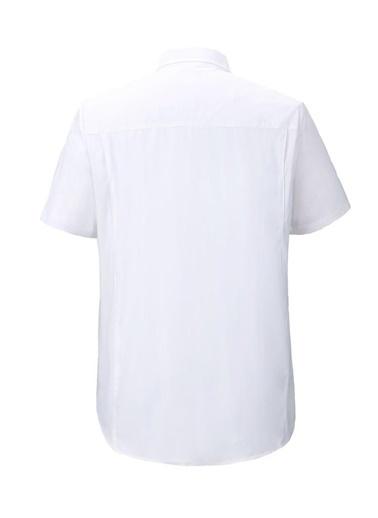 Panthzer  Gungartan Erkek Gömlek Beyaz Beyaz